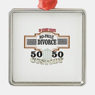 Ornamento De Metal custódia 50 50 no casamento