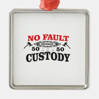 Ornamento De Metal custódia 50 do divórcio 50 do gavel