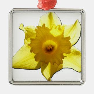 Ornamento De Metal Daffodil 1,0 da trombeta amarela