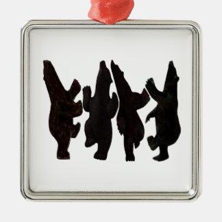 Ornamento De Metal Dançarinos minúsculos