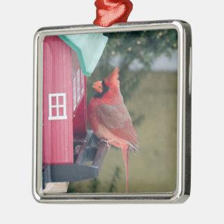 Ornamento De Metal Decoração cardinal do Natal