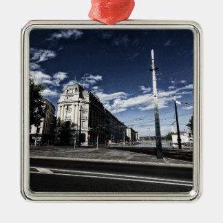 Ornamento De Metal DES Moulins da rua em Genebra