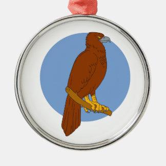 Ornamento De Metal Desenho Cunha-atado australiano da vara de Eagle
