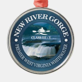 Ornamento De Metal Desfiladeiro novo do rio (c)