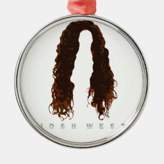 Ornamento De Metal Design do cabelo de Josh