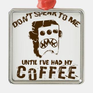 Ornamento De Metal design do café