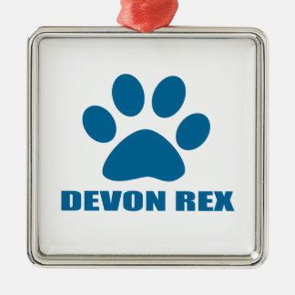 ORNAMENTO DE METAL DESIGN DO CAT DE REX DE DEVON