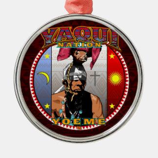 Ornamento De Metal Design do dançarino dos cervos de Yaqui Yoeme