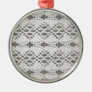 Ornamento De Metal Design do laço do vintage do chique