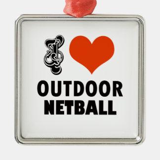 Ornamento De Metal Design do Netball