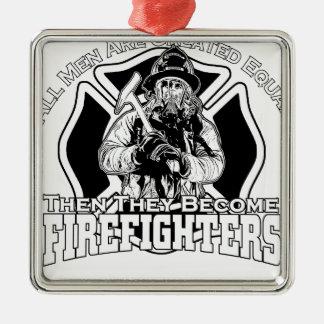 Ornamento De Metal Design dos sapadores-bombeiros