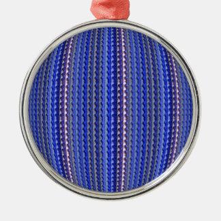 Ornamento De Metal Design geométrico roxo colorido brilhante mega