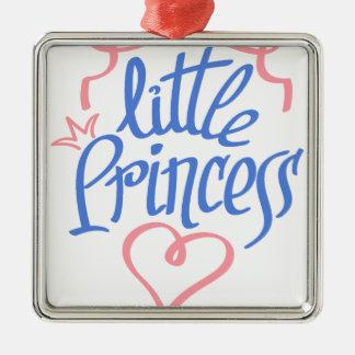 Ornamento De Metal design pequeno do coração da princesa