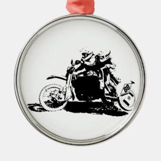 Ornamento De Metal Design simples de Sidecarcross