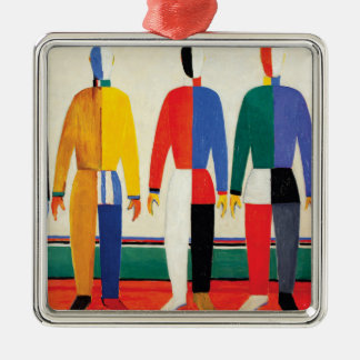 Ornamento De Metal Desportistas por Kazimir Malevich