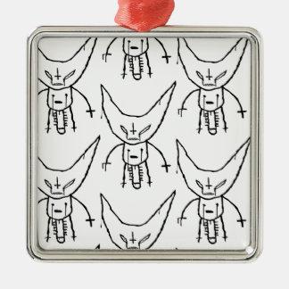 Ornamento De Metal Diabo Dik de ZEF