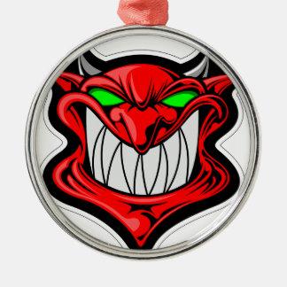Ornamento De Metal Diabo dos desenhos animados