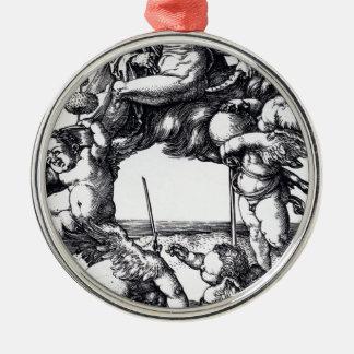 Ornamento De Metal Die_Hexe_ (Albrecht_Dürer)