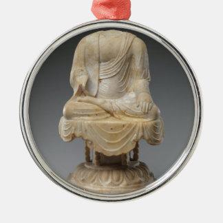 Ornamento De Metal Dinastia decapitado de Buddha - de Tang (618-907)