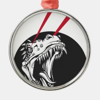Ornamento De Metal dinossauro selvagem