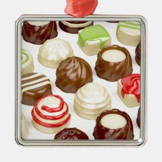Ornamento De Metal Doces de chocolate