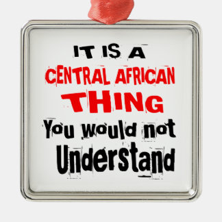 ORNAMENTO DE METAL É DESIGN DA ÁFRICA CENTRAL DA COISA