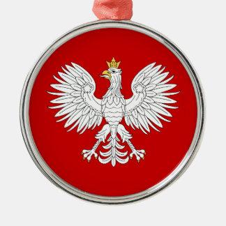 Ornamento De Metal Eagle polonês