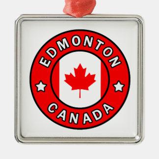 Ornamento De Metal Edmonton Canadá