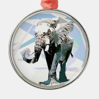 Ornamento De Metal elefante da África