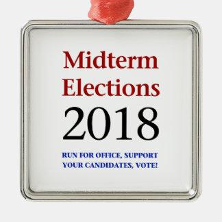 Ornamento De Metal Eleições Midterm 2018