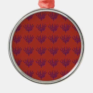Ornamento De Metal Elementos de Ethno do design de Seeweeds
