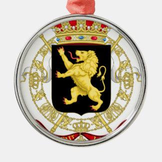 Ornamento De Metal Emblema belga - brasão de Bélgica