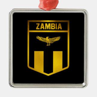 Ornamento De Metal Emblema da Zâmbia