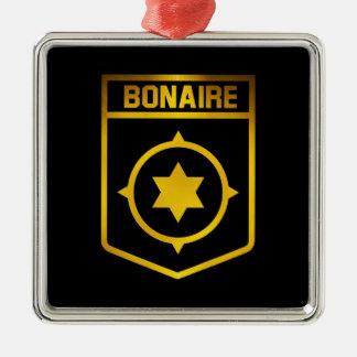 Ornamento De Metal Emblema de Bonaire