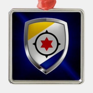Ornamento De Metal Emblema de Bonaire Mettalic