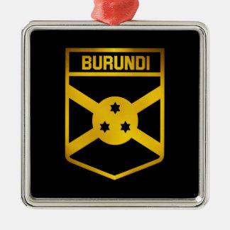 Ornamento De Metal Emblema de Burundi