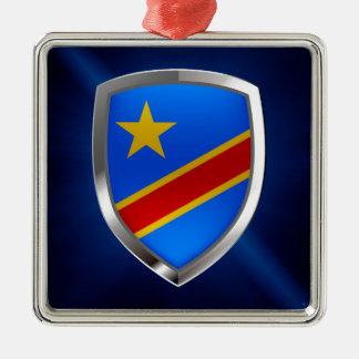 Ornamento De Metal Emblema de Congo Mettalic