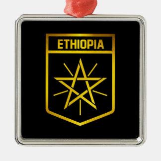 Ornamento De Metal Emblema de Etiópia