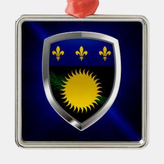 Ornamento De Metal Emblema de Guadalupe Mettalic