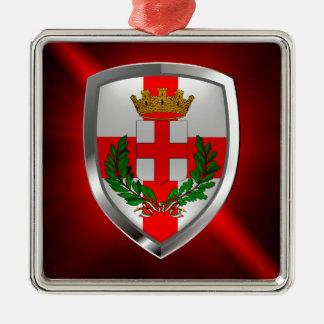 Ornamento De Metal Emblema de Milão Mettalic