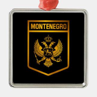 Ornamento De Metal Emblema de Montenegro