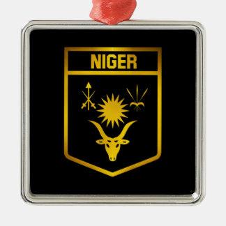 Ornamento De Metal Emblema de Niger