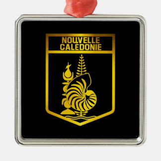 Ornamento De Metal Emblema de Nova Caledônia