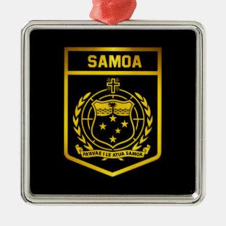 Ornamento De Metal Emblema de Samoa