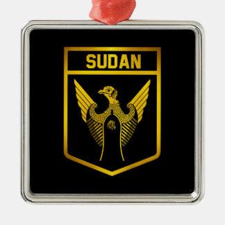 Ornamento De Metal Emblema de Sudão