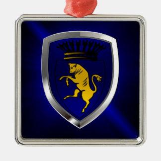Ornamento De Metal Emblema de Torino Mettalic