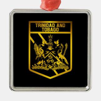 Ornamento De Metal Emblema de Trinidad and Tobago