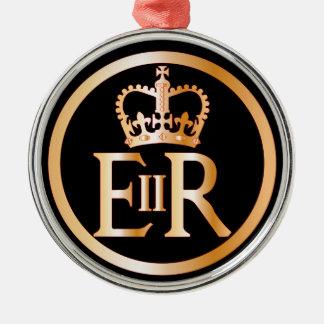 Ornamento De Metal Emblema do reino de Elizabeth