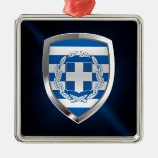 Ornamento De Metal Emblema metálico da piscina