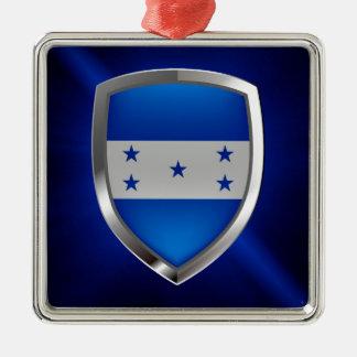 Ornamento De Metal Emblema metálico de Honduras